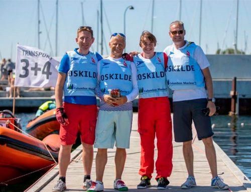 Flot resultat af teamet fra Roskilde Sejlklub i sejlsportsligaen